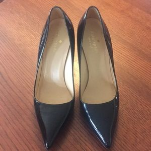 "Kate Spade ""licorice too"" Patent Leather Pumps"